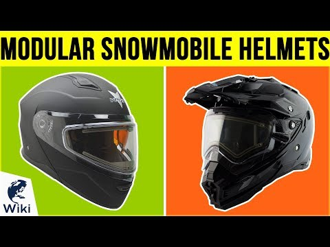 10 Best Modular Snowmobile Helmets 2019