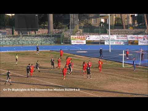 Gs Tv- Highlights di Us Grosseto-San Miniato Basso 0 a 0