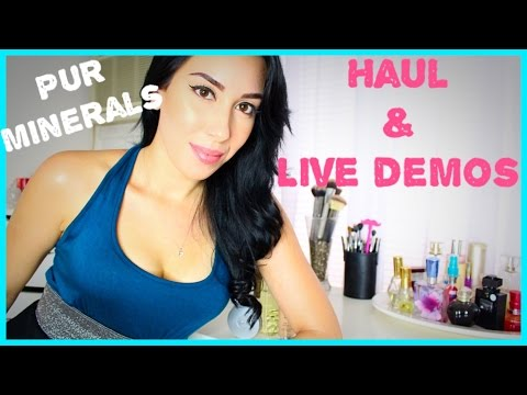 Best Powder Foundation!! Pur Minerals | Makeup Thats GOOD for your skin?!