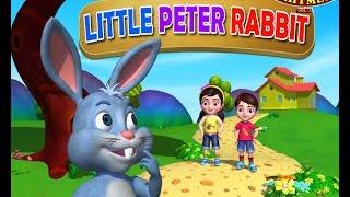 Little Peter Rabbit | Nursery Rhymes for Children | Infobells