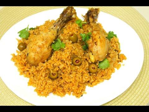 Dominican Style Chicken And Rice (Locrio De Pollo Dominicano) Arroz Con Pollo