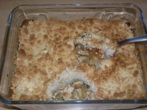 recette-du-crumble-de-poireaux-au-fromage-de-chèvre-frais