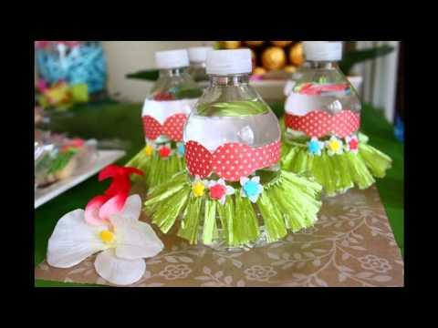 Easy Luau party decorating ideas