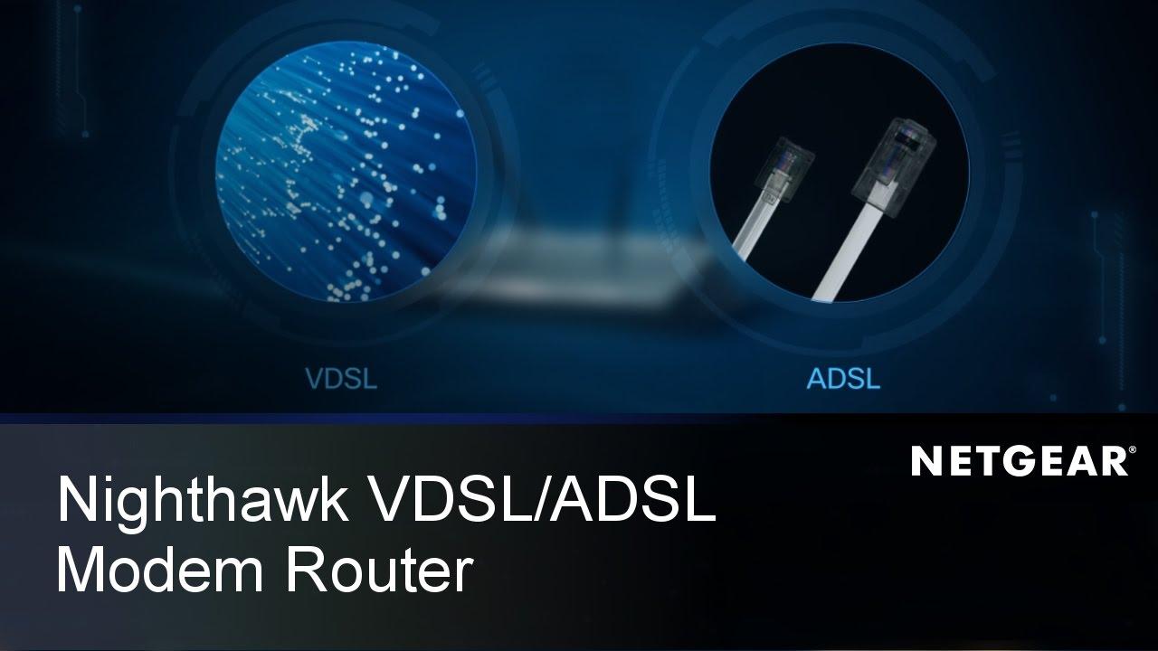 Netgear D7000 ADSL2+ Wireless-AC1900 Dual Band Gigabit Modem