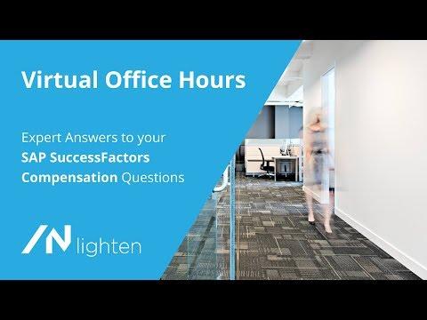 SAP SuccessFactors Compensation - Virtual Office Hours | /N SPRO HCM