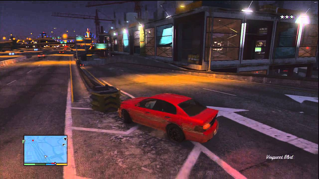 Gta V Car Crash Physics The Only Real Issue Youtube