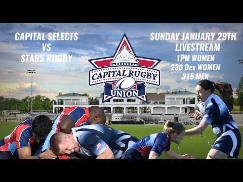 Capital Selects vs. Stars Rugby