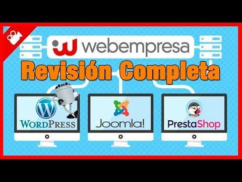 ☑️ RESEÑA COMPLETA de Webempresa   Tutorial de esta empresa de Hosting española y en ESPAÑOL thumbnail