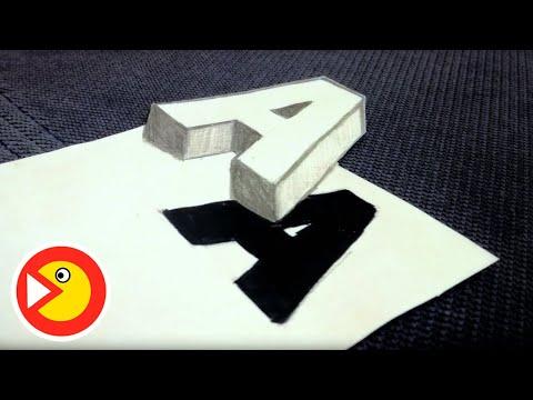 Вопрос: Как нарисовать 3 D печатные буквы с эффектом тени?