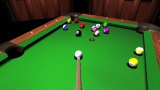 3D Pool - Shockwave games Gameplay by Magicolo 2012