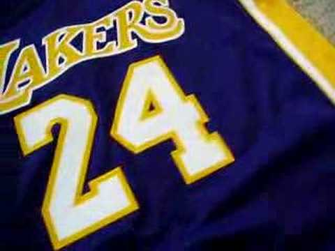 pttlgv Adidas Los Angeles Lakers Kobe Bryant Purple Swingman Jersey - YouTube