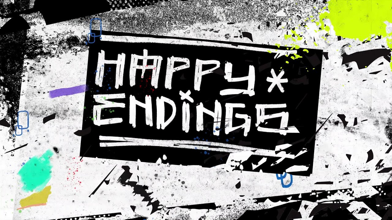 Mike Shinoda - Happy Endings (feat. iann dior and UPSAHL) [Official Lyric Video]