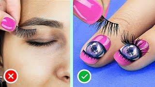 16 Nageltricks und Designs Die Jedes Mädchen Ausprobieren Muss