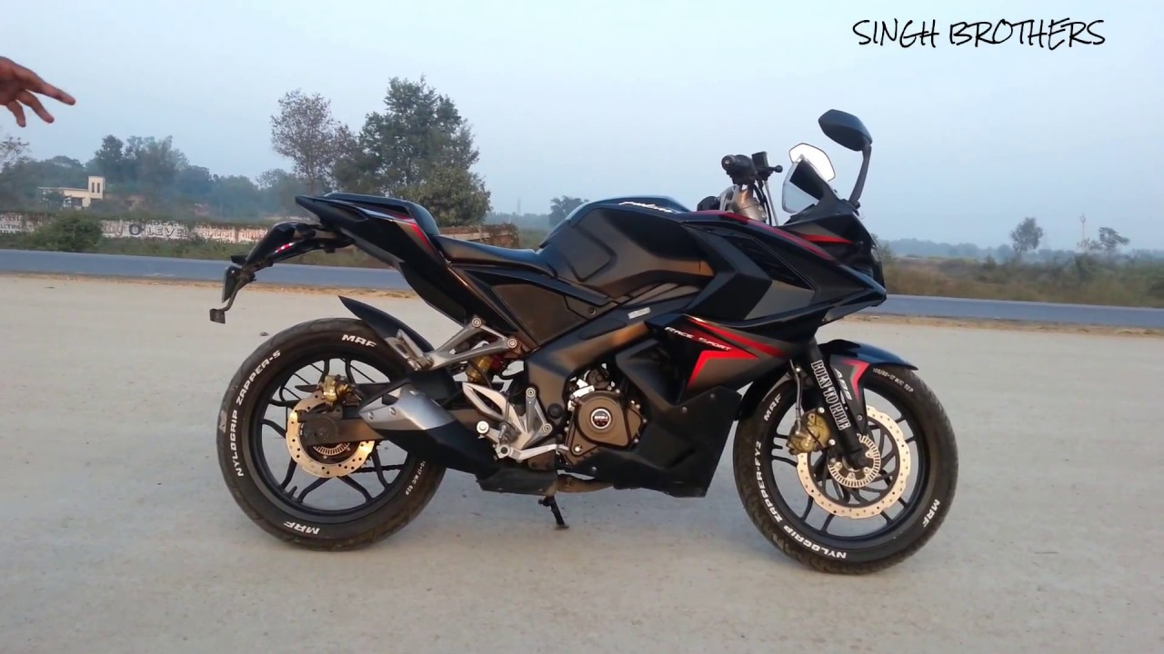 Pulsar rs 200 modified with stickers and vinyl wrap without compromise with original look youtube