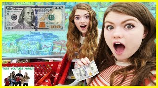 Girls $100 Shopping Challenge!  What Will They Buy? / That YouTub3 Family