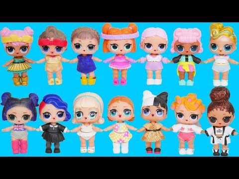 LOL Surprise! Dolls Dress Up Wrong Outfits + Luxe Big Sisters, Confetti Pop Spin Series 3 Unboxed!