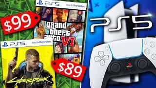 PlayStation 5 в пролете, игры сильно подорожали!