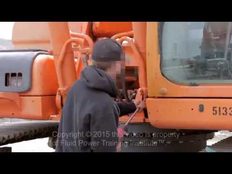 Worker narrowly escapes serious injury!
