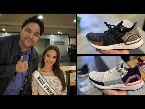 MEETING CATRIONA GRAY & SHOPPING FOR A NEW ADIDAS ULTRA BOOST 19!