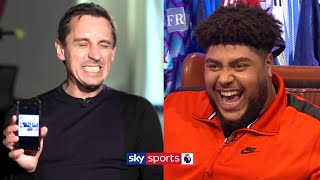 Liverpool fan reacts to Gary Neville's EXTREMELY awkward old tweets | Saturday Social