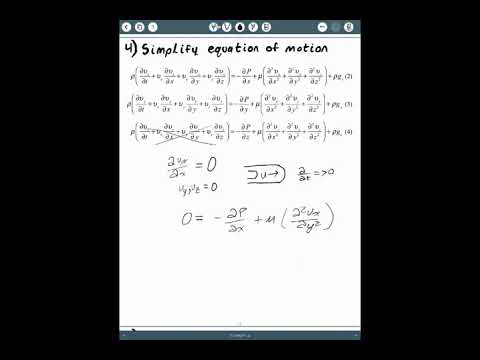 DERIVING AN ANALYTICAL EXPRESSION FOR VELOCITY