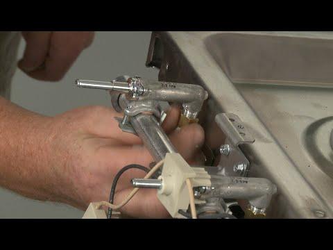 Left Front Burner Valve - Kitchenaid Double Oven Gas Range (Model #KFGD500ESS04)
