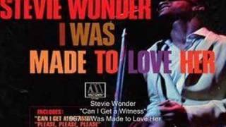 Watch Stevie Wonder Can I Get A Witness video