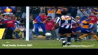 Tigres vs Pachuca, Final 2001