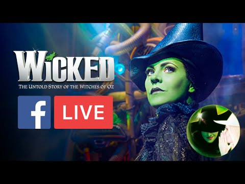 Rachel Tucker - #Wicked10 Backstage Tour | WICKED The Musical UK