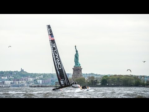 Hysucat 28 RIB - Official chase boat at America's Cup World Series in New York and Chicago 2016