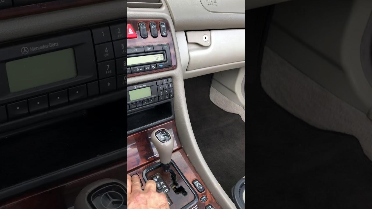 How To Close Convertible Top 1999 Mercedes Clk320