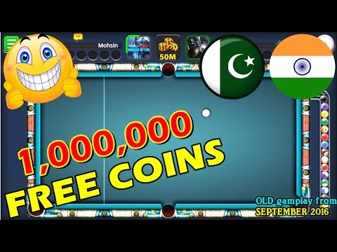 Thumbnail: 8 Ball Pool - [URDU/HINDI] HOW TO GET 1,000,000 FREE COINS (GIFT SYSTEM)
