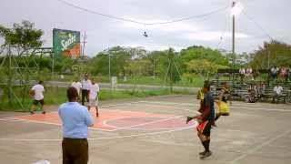 akeem watters best high school basketball player in belize 2013  dunk clinic