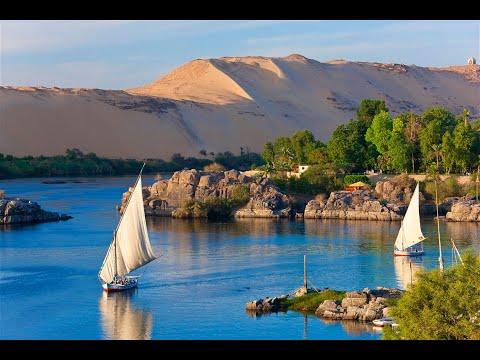 Navegando Por El Río Nilo En Egipto Sus Templos Y El Dios Hapi