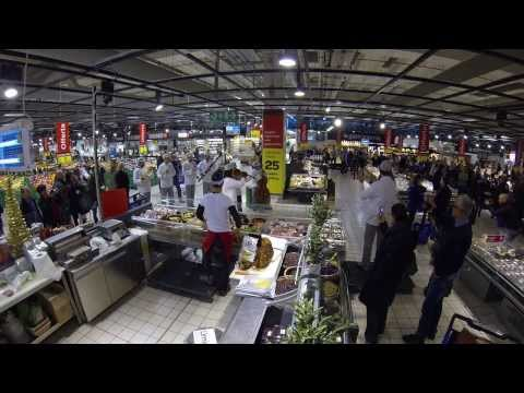Flashmob tenori Carrefour Assago