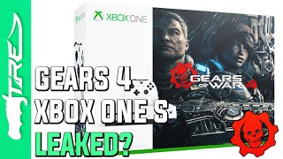Gears of War 4 Xbox One S Limited Edition Console and Bundle LEAKED? (Gears of War 4 News)