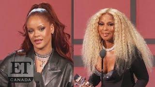 Rihanna Presents Mary J. Blige With Lifetime Achievement Award