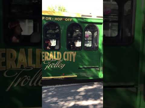 Trolley at Issaquah Highlands Day, 2017