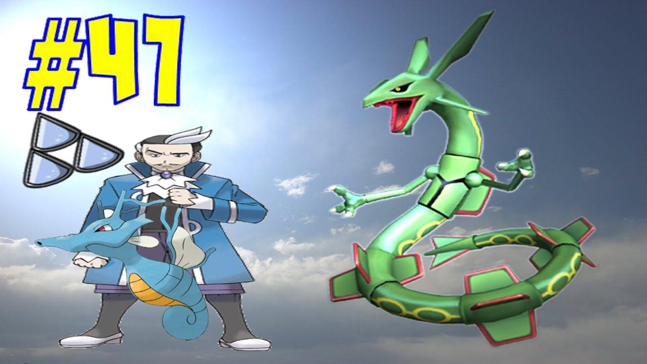 pokemon esmeralda 47 gimnasio arrecipolis y lider