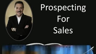 Frank Furness: Prospecting for sales
