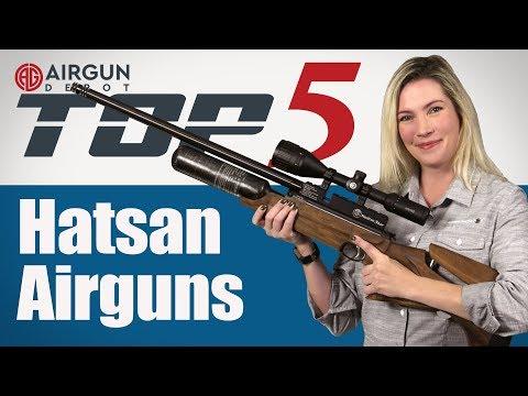 Top 5: Hatsan Airguns