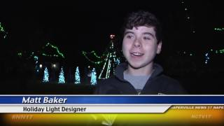 Naperville Teen Lights up the Holidays