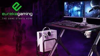 Eureka R1-S Gaming Computer Desk - EPIC TRAILER
