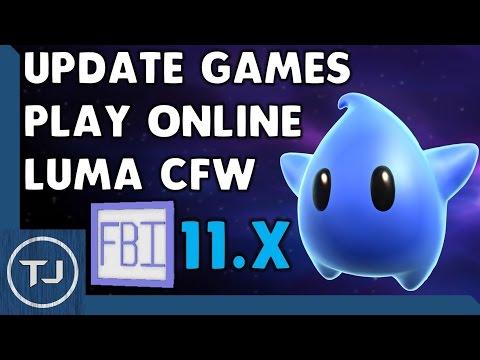 3DS 11.3 CFW Update Luma! (Play Online & Update Games) 2017!