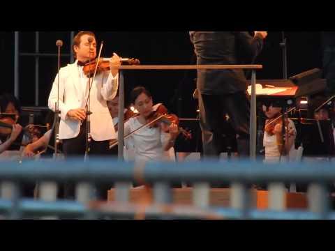 Отрывок из выступления Нью-йоркского филармонического оркестра.