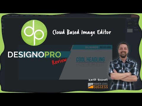 DesignoPRO Review - Web based Graphics Editor