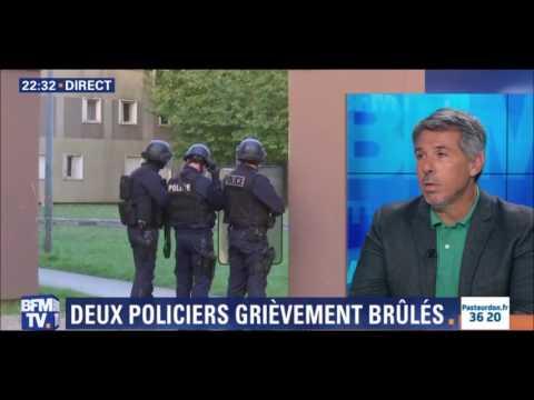 VIRY-CHÂTILLON : DES POLICIERS ATTAQUÉS AUX COCKTAILS MOLOTOV