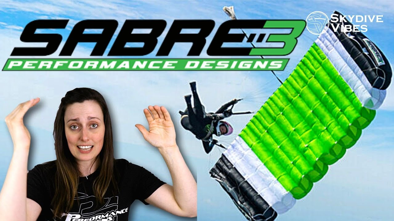 NEW Sabre3 Canopy from Performance Designs