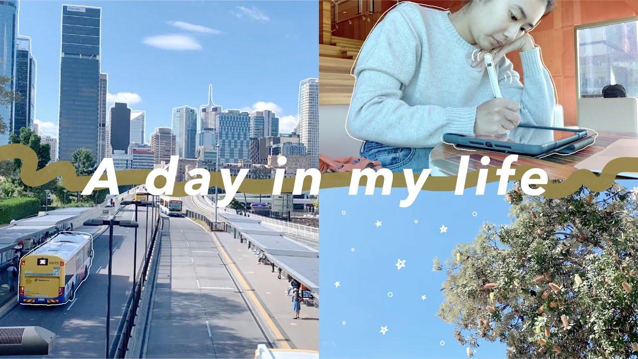 【オーストラリアの1日】リセットVlog: いつもの習慣を取り戻す。ブリスベンの図書館で作業をする1日。