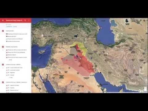 Mapa interactivo sobre el conflicto en Iraq